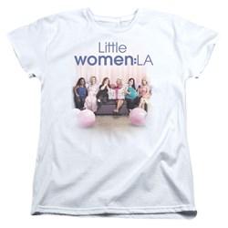 Little Women La - Womens Baby Shower T-Shirt