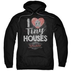 Tiny House Nation - Mens I Heart Tiny Houses Pullover Hoodie