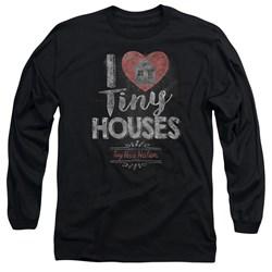 Tiny House Nation - Mens I Heart Tiny Houses Long Sleeve T-Shirt