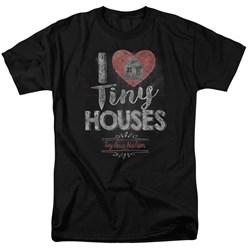 Tiny House Nation - Mens I Heart Tiny Houses T-Shirt