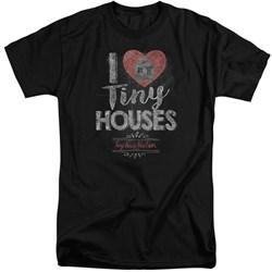 Tiny House Nation - Mens I Heart Tiny Houses Tall T-Shirt