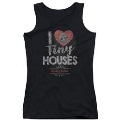 Tiny House Nation - Juniors I Heart Tiny Houses Tank Top
