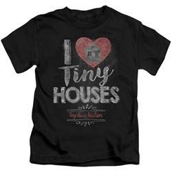 Tiny House Nation - Youth I Heart Tiny Houses T-Shirt