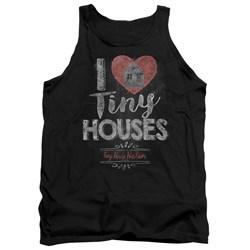 Tiny House Nation - Mens I Heart Tiny Houses Tank Top