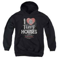 Tiny House Nation - Youth I Heart Tiny Houses Pullover Hoodie
