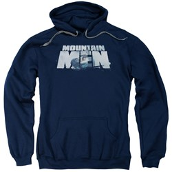 Mountain Men - Mens Live For A Living Pullover Hoodie