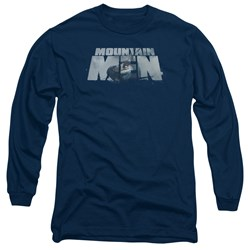 Mountain Men - Mens Live For A Living Long Sleeve T-Shirt