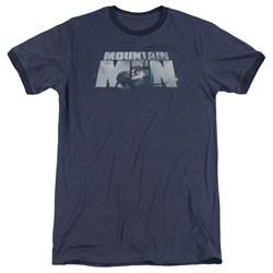 Mountain Men - Mens Live For A Living Ringer T-Shirt