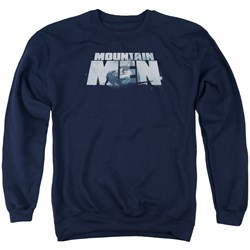 Mountain Men - Mens Live For A Living Sweater