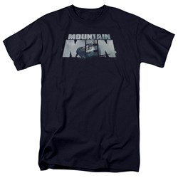 Mountain Men - Mens Live For A Living T-Shirt