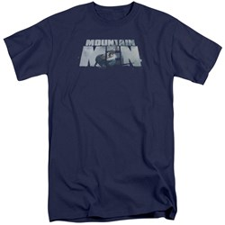 Mountain Men - Mens Live For A Living Tall T-Shirt