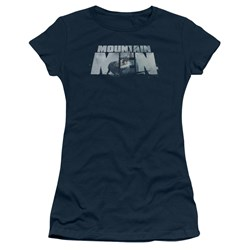Mountain Men - Juniors Live For A Living T-Shirt