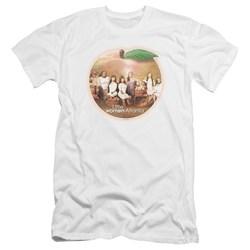Little Women Atlanta - Mens Peach Pie Premium Slim Fit T-Shirt