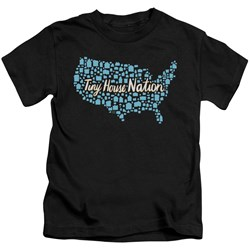 Tiny House Nation - Youth Nation Of Houses T-Shirt