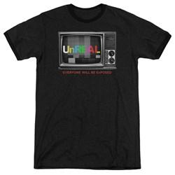 Unreal - Mens Static Ringer T-Shirt
