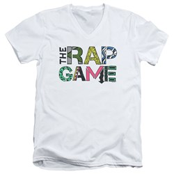 The Rap Game - Mens The Rap Game Logo V-Neck T-Shirt
