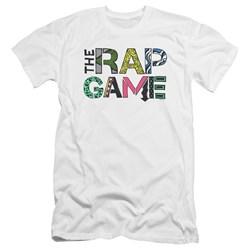 The Rap Game - Mens The Rap Game Logo Premium Slim Fit T-Shirt