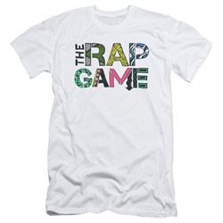 The Rap Game - Mens The Rap Game Logo Slim Fit T-Shirt