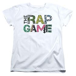 The Rap Game - Womens The Rap Game Logo T-Shirt