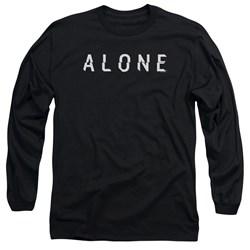 Alone - Mens Alone Logo Long Sleeve T-Shirt