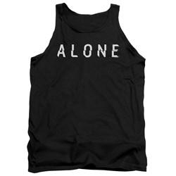 Alone - Mens Alone Logo Tank Top