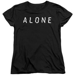Alone - Womens Alone Logo T-Shirt