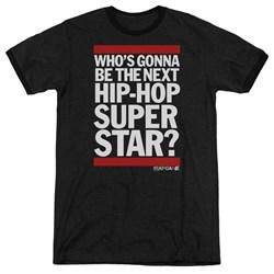 The Rap Game - Mens Next Hip Hop Superstar Ringer T-Shirt