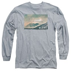 Alone - Mens Consequences Long Sleeve T-Shirt