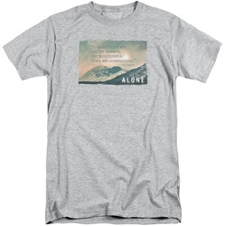 Alone - Mens Consequences Tall T-Shirt