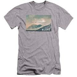Alone - Mens Consequences Premium Slim Fit T-Shirt