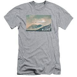 Alone - Mens Consequences Slim Fit T-Shirt