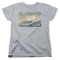 Alone - Womens Consequences T-Shirt