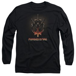 Forged In Fire - Mens Swords Long Sleeve T-Shirt