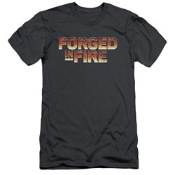Forged In Fire - Mens Forged In Fire Logo Slim Fit T-Shirt
