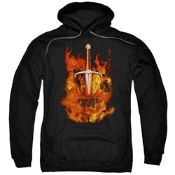 Forged In Fire - Mens Sword In Fire Pullover Hoodie