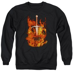 Forged In Fire - Mens Sword In Fire Sweater