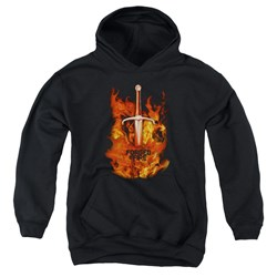 Forged In Fire - Youth Sword In Fire Pullover Hoodie