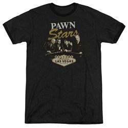 Pawn Stars - Mens Let It Roll Ringer T-Shirt