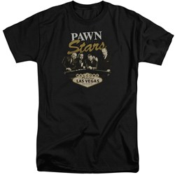Pawn Stars - Mens Let It Roll Tall T-Shirt