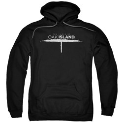 The Curse Of Oak Island - Mens Tunnel Logo Pullover Hoodie