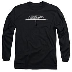 The Curse Of Oak Island - Mens Tunnel Logo Long Sleeve T-Shirt