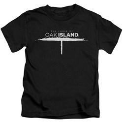 The Curse Of Oak Island - Youth Tunnel Logo T-Shirt