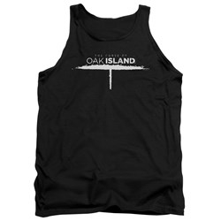 The Curse Of Oak Island - Mens Tunnel Logo Tank Top