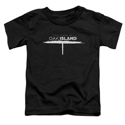 The Curse Of Oak Island - Toddlers Tunnel Logo T-Shirt