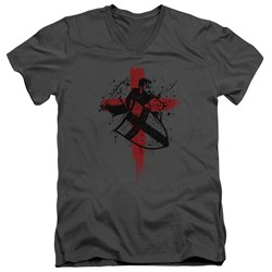 Knightfall - Mens Landry V-Neck T-Shirt