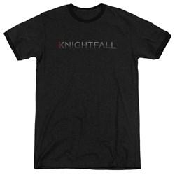 Knightfall - Mens Logo Ringer T-Shirt
