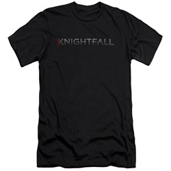 Knightfall - Mens Logo Premium Slim Fit T-Shirt