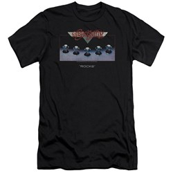 Aerosmith - Mens Rocks Premium Slim Fit T-Shirt
