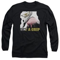 Aerosmith - Mens Gripped Long Sleeve T-Shirt