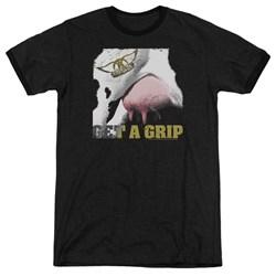 Aerosmith - Mens Gripped Ringer T-Shirt